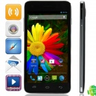 "Elephone P7 mini MTK6582 Quad-Core Android 4.2.2 WCDMA Bar Phone w/ 5.0"" IPS, FM, Wi-Fi, GPS - Black"