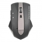 Promi MG-011 2.4GHz Wireless 1600dpi Mouse w/ 3-Port USB 2.0 Hub Dock - Black