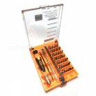 Jakemy JM-8115 45-in-1 Screwdriver Set - Orange + Black + Multi-Colored