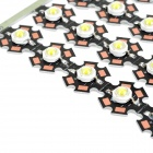 JRLED JR-LED-20mm 1W 90lm 300mA cool lâmpada branca (25 pcs)