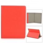 "Universal Protective PU Leather Case for 9~10"" Tablet PC - Red"