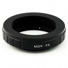 M39-FX Leica M39 Lens to Fujifilm X-Pro1 Mount Adapter - Black
