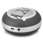 OYK OK-20 Rechargeable Bluetooth V2.1 Mini Portable Speaker - Black + Silver