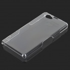 Protective PC Back Case for Sony Xperia Z1 Mini - Transparent