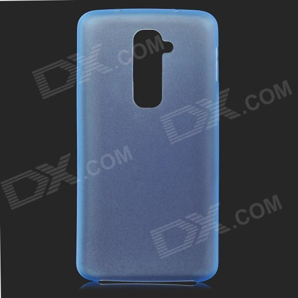 все цены на Protective Plastic Back Case for LG Optimus G2 - Translucent Blue онлайн