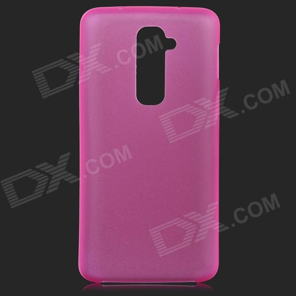 все цены на Protective Plastic Back Case for LG Optimus G2 - Dark Pink онлайн