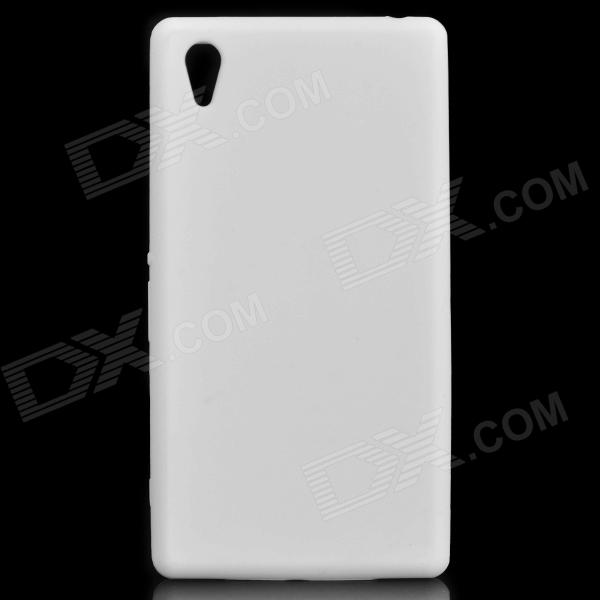 Stylish Protective Silicone Back Case for Sony Xperia Z1 / L39H / C6902 - White