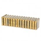 GUANG MING R65 1.5V AA Battery - Black + Golden + Multi-Colored