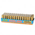 GUANG MING 1.5V AA Battery - Black + Golden + Multi-Colored