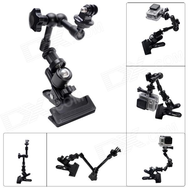 Fat Cat M-CA2 Clamp Mount w/ Extension Magic Arm for Gopro Hero 4/ 3+ / 3 / 2 / 1 / SJ4000 - BlackMounting Accessories<br>Perfectly fit for Hero3+ Hero3 Hero2 Hero1+ Universal Cameras You can fix you GoPro for anywhere and any degree The 11 version SKU is 292758 PS? Hi DX&amp;#39;S Friend? please help us to add the 11 version SKU link here Thx a lot :)<br>