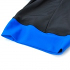 TOP CYCLING Silicone Pad Quick-Drying Short Pants - Black + Blue (L)