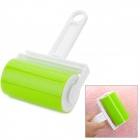 Handheld Clothing Duster Remover - White + Translucent Green + Multi-Colored