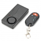 Remote Control Vibration Alarm Device Set - Black (2 x AAA)