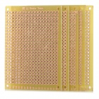 Universal Experiment Organic Resin Circuit Board - Yellow (5 PCS)
