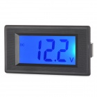 SJ-LCD-DC5315A DC 0~100V LCD Display Voltmeter - Black +  Green