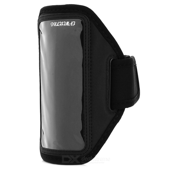 Sports Gym Armband Case for Samsung Galaxy S5 i9600 - Black
