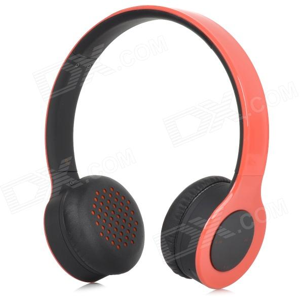 SHIKE XBT-700 Fashion Wireless Bluetooth V2.0 Headband Headphone w/ Mic for Cellphones - Red bh23 wireless bluetooth v2 1 edr headband headphone for laptops cellphones more red black