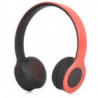 SHIKE XBT-700 Fashion Wireless Bluetooth V2.0 Headband Headphone w/ Mic for Cellphones - Red