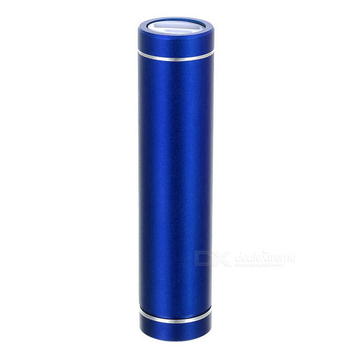 GXSM-02 Portátil Power Bank 18650 Caso Gabinete para iPhone / iPad / iPod / HTC / Samsung - Azul
