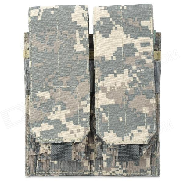 SW2089 600D Oxford Nylon 2-pocket Cartridge Holder for M4 - Camouflage