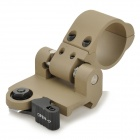 LAKVE Steel Offset Weaver Mount for M4 - Khaki