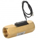 SAIER SEN-ZL21N G-Sensor Brass Flow Switch - Golden