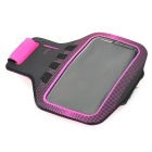 Sunshine Sports Gym Neoprene Armband Case for Samsung Galaxy S5 i9600 - Deep Pink + Black
