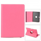 Protective 360 Degree Rotation PU Leather Case for Samsung Note Pro12.2 P900 / P905 - Deep Pink