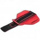 Sunshine Sports Gym Neoprene Armband Case for Samsung Galaxy S5 i9600 - Red + Black