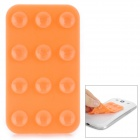 V10 Suction Cup Anti-Slip Pad for Cell Phone - Orange