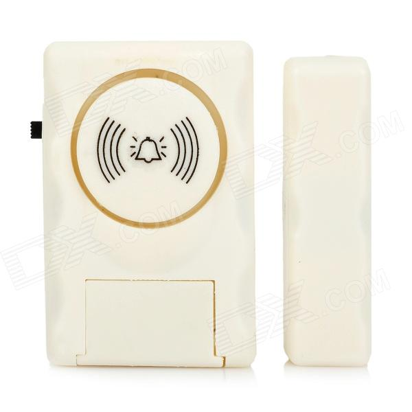 Door / Window Access-Prevention Alarm Device - White (3 x LR44)