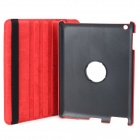 Crocodile Grain Style Protective 360 Degree Rotation PU Leather Case for IPAD 2 / 3 / 4 - Red