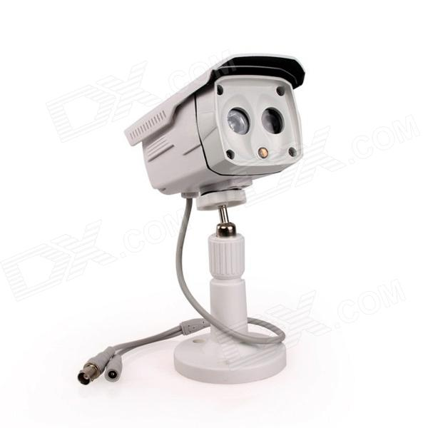 Kinrener DH800 Waterproof 1/4 COMS 800lines CCTV Camera w/ 2-IR-LED / Holder / Power Adapter holder ir f1 w