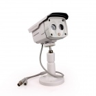"Kinrener DH800 Waterproof 1/4"" COMS 800lines CCTV Camera w/ 2-IR-LED / Holder / Power Adapter"