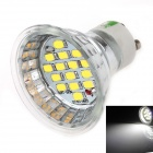 Buy LUO DB07 GU10 8W 600lm 6000K 15 x 5630 White Light Spotlight - Silver Grey + (AC 85~265V)