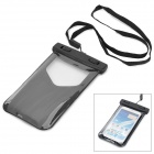 Cooskin SW-034 PVC Universal Waterproof Case w/ Display Windows for 5.7'' Mobile Phone - Black