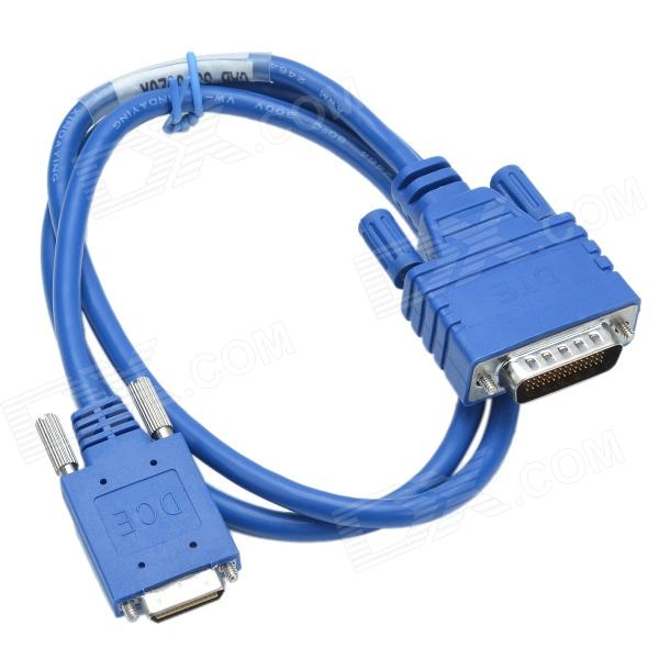 CMI CAB-SS-6026X DTE Male to DCE Male Adapter Cable - Blue (90cm) - DXComputer Cable&amp;Adapter<br>Color Blue Brand CMI Model CAB-SS-6026X Quantity 1 Piece Material ABS + Copper Shade Of Color Blue Interface OthersDTE Male to DCE Male Powered By Power Free Supports System Win xpWin7 32Win7 64Linux Packing List 1 x Cable (90cm)<br>