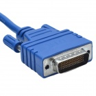 CMI CAB-SS-6026X DTE Male to DCE Male Adapter Cable - Blue (90cm)