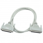 CMI DB 37-Pin Male to Male Adapter Cable - Grayish White