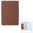 Oracle Style Protective PU Leather Case for IPAD AIR - Coffee
