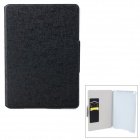 Oracle Style Protective PU Leather Case for IPAD AIR - Black