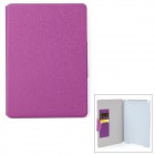 Oracle Style Protective PU Leather Case for IPAD AIR - Purple