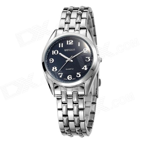 WEIQINW4368G Men's Business Casual Simplicity Luminous Watch - Black + Silver