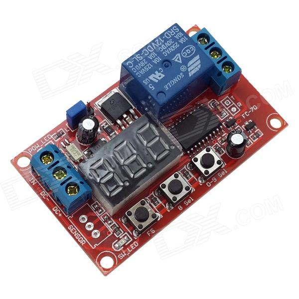 Produino 12V Mobilize/ High and Low Trigger/Time Delay Relay Module