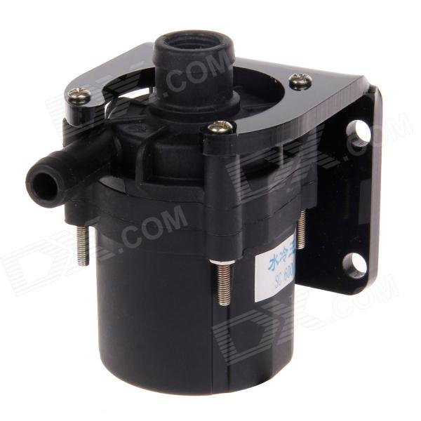 WT-033 SC600A Water Pump Bracket - Black (DC 12V) dc 12v 80w high pressure micro diaphragm water pump diaphragm water pump automatic switch for rv boat 5 5l min