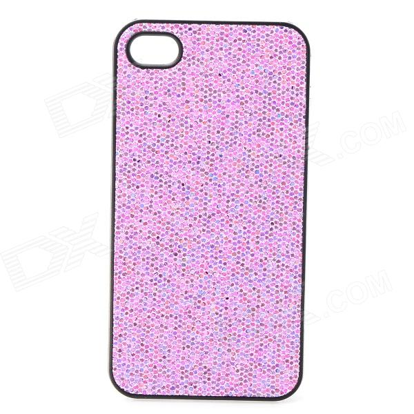 все цены на SFLP-122 Shimmering Power PC Protective Back Case for IPHONE 4 / 4S - Purple онлайн