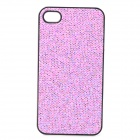 SFLP-122 Shimmering Power PC Protective Back Case for IPHONE 4 / 4S - Purple
