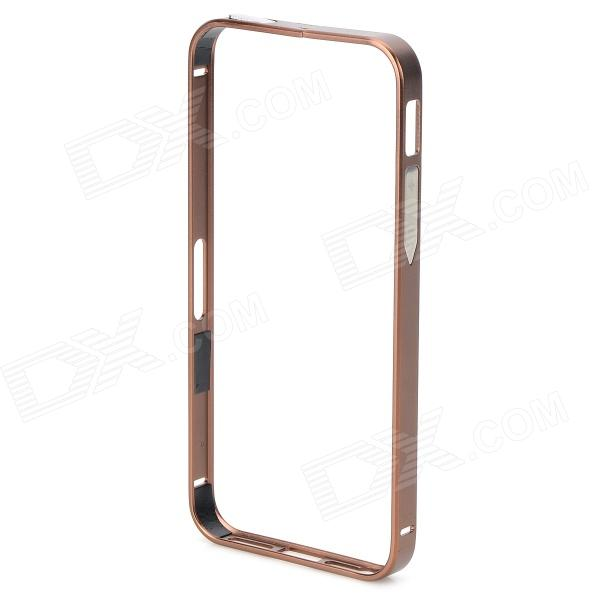 S-What Protective Aluminum Alloy Bumper Case for IPHONE 5 / 5S - Champagne protective aluminium alloy bumper frame for iphone 5 5s champagne