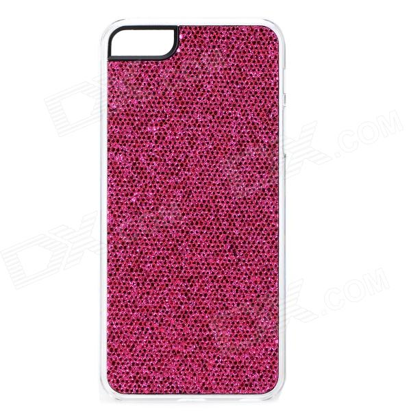 SFLP-123 Shining Protective PC Back Case for IPHONE 5 / 5S - Deep Pink link dream protective tpu pc back case for iphone 5 5s mint deep pink