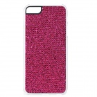 SFLP-123 Shining Protective PC Back Case for IPHONE 5 / 5S - Deep Pink